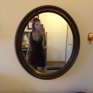 Dresses & Skirts - Velvet Maroon Bodycon